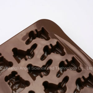 Cute Animal Cartoon Silicone Bakeware Mold for Chocolate and Cake Si26 pictures & photos