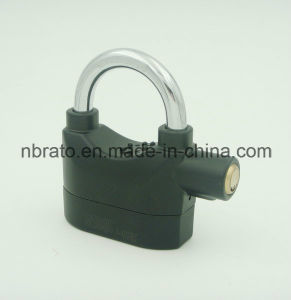 Black Siren Alarm Padlock Alarm Lock for Bicycle pictures & photos