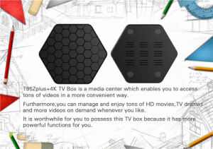 TV Box HD 4k TV Box S912 Pendoo T95z Plus Network Television pictures & photos