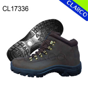 Skin Leather Men Outdoor Hiking Safety Shoes pictures & photos