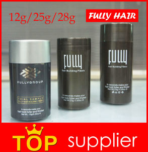EU Market Hot Sell Fully Keratin Hair Building Fibers for Black Hair pictures & photos