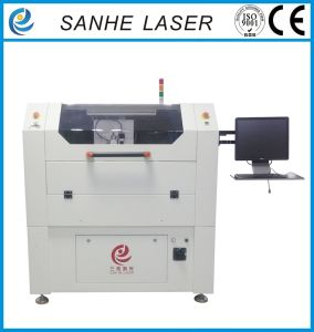 100W High Precision18000hole/H SMT Stencil Fiber Laser Cutting Machine pictures & photos