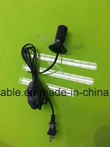 Hot Selling UL Approval Spt-1 Salt Lamp Power Cord with Dimmer Switch pictures & photos