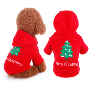 Hot Season Christmas Holiday Dog Costumes Pet Coat pictures & photos