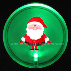 2017 Christmas Gifts LED Blinking Badge with Logo Available (3569)