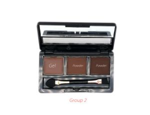 2 Powder + 1 Gel High Quality Professional OEM/ODM Eyebrow Palette pictures & photos