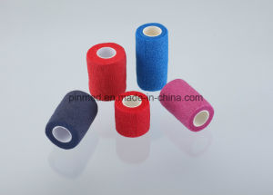 Disposable Cotton Self Adhesive Bandage pictures & photos