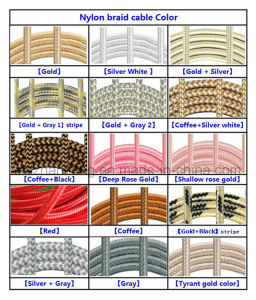 1m / 2m / 3m Fabric Nylon Braided 8pin USB Cable Charger Data Cable for iPhone pictures & photos