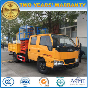 8-10m Jmc Double Cab High Altitude Operation Scissor Truck pictures & photos