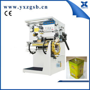 Semi-Automatic Backward Welding Machine of Big Tin Retangular Square Can pictures & photos