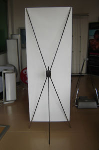 Economy PVC Banner X Display Stand (BN-10) pictures & photos