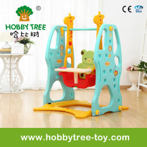 2017 Popular Style Indoor Plastic Baby Swing Toys (HBS17003A)