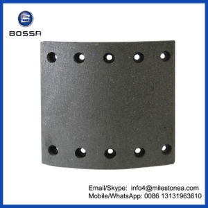 Brake Parts Truck Brake Shoe Lining for BPW pictures & photos
