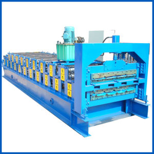 Technical Parameters of Glazed Tile Roll Forming Machine Production Line pictures & photos