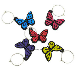 PVC Lovely Rubber Key Chain Plastic Products Gift Decoration pictures & photos