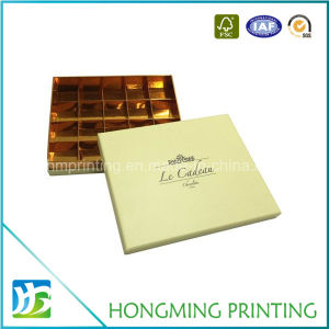 Luxury Cardboard Candy Chocolate Boxes with Paper Divider pictures & photos