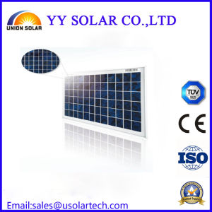 50W Colourful Poly Solar Panel for Solar Light pictures & photos