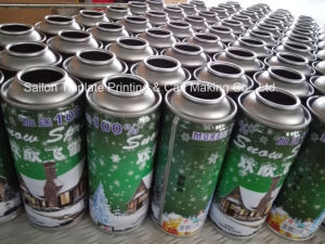 Packaging Tin Cans for Spray Snow and Spray String pictures & photos