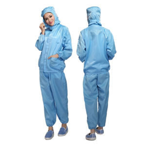 Cleanroom Jacket &Pants ESD Garments for Cleanroom Working pictures & photos