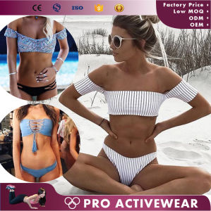 Customized Swimwear New Arrival Girls Sexy Two Piece Swimsuit pictures & photos