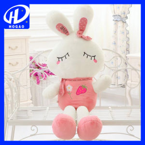 Girl′s Lovely Cute Plush Doll Toy Stuffed Animal Rabbit Pillow Quality Bolster pictures & photos