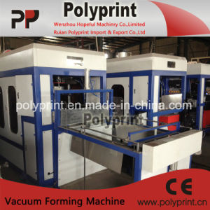 Automatic Plastic Thermoforming Machine for PP/PS/Pet Cup (PPTF-70T) pictures & photos