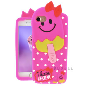 New Design Ice Cream Silicone Phone Case for iPhone 6g 7g 7plus 6plus Mobile Phone Cover (H78)