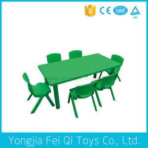 Educational Equipment-Plastic Rectangular Table pictures & photos