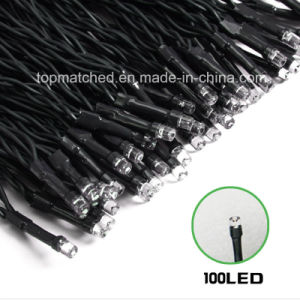 12m 100LED Length Outdoor Garden LED String Decoration Christmas Light pictures & photos