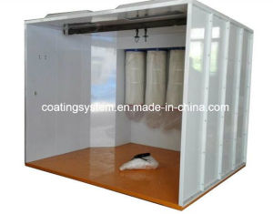 Powder Coating Application Unit and Spray Booth pictures & photos
