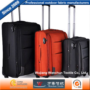 Polyester Oxford Fabric with PVC Backing for Bags Luggages pictures & photos