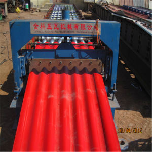 Color Steel Corrugated Roof Sheet Automatic Roll Forming Machine pictures & photos
