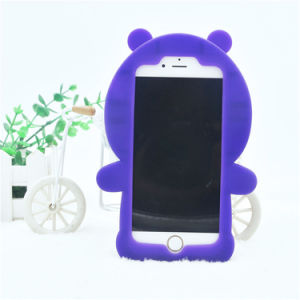 Beauty Bear Custom Design Silicone Case for iPhone 5s pictures & photos