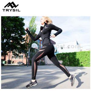 Women Sexy Sport Leggings Fashion Yoga Long Pants Fitness Wear for Lady