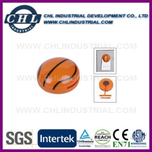 Reusable Logo Printed Mini Plastic Basketball Magnetic Clip pictures & photos