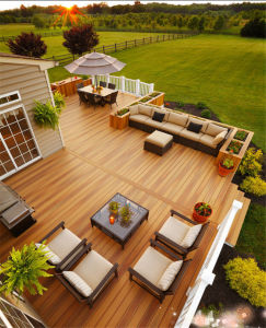 140X25 Factory Price WPC Composite Decking for Construction Decoration pictures & photos
