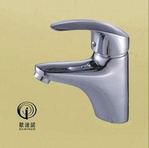 Oudinuo Single Handle Brass Bathtub Faucet 68913-1 pictures & photos