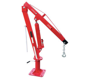 1000lb Hydraulic Swivel Foldable Truck Crane pictures & photos
