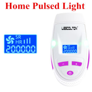 LCD Laser Epilator Private Body Women Men Home Use IPL Permanent Hair Removal Device Epilator 200000 Shots with Skin Sensor pictures & photos