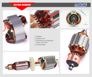1400W High Quality Electric Wet Portable Angle Grinder (AG005) pictures & photos