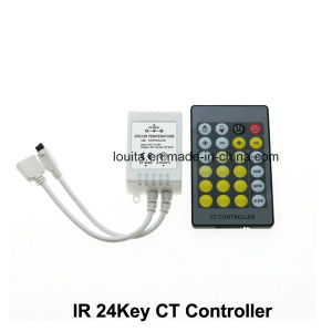 Double Color 24key LED Color Temperature Controller pictures & photos