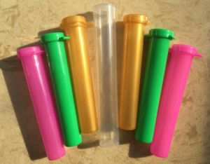 Waterproof Plastic Bottle Pre-Rolled Joint Tubes pictures & photos