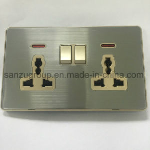 UK Style 1 Gang TV Socket Satellite Socket pictures & photos