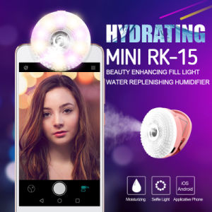 Light with Water Supply Instrument for Selfie (rk15) pictures & photos