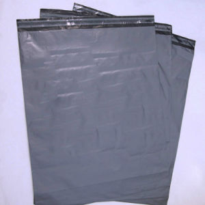 Cheap LDPE Gray Plastic Packaging Post Mail Bag for Delivery pictures & photos