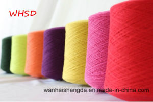 Nm 2/60 Dyed 100% Cashmere Yarn for Knitting and Weaving