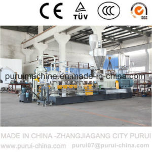 Conical Twin Screw Extruder for Waste Pet Bottle Granulating pictures & photos