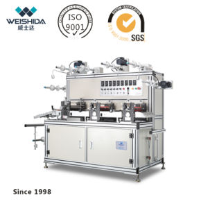 Intelligent CNC Multifuntional Circular Knife Laminating Machine with Exhaust Fitting pictures & photos