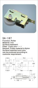 Nylon Roller for Sliding Window and Door/ Hardware (SA-187) pictures & photos