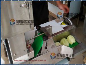 FC-305 Celery Cucumber Vegetable Cutting Slicing Machine pictures & photos
